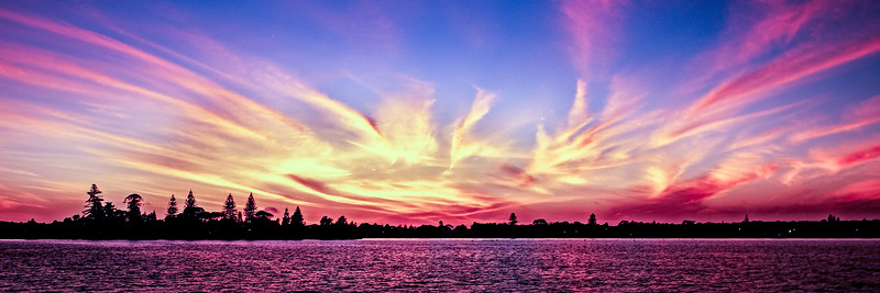 Panoramic Sunrise Seascape Australia