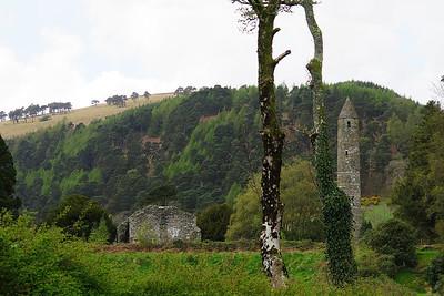 Ireland April 23, 2014: Ballyknocken and Glendalough