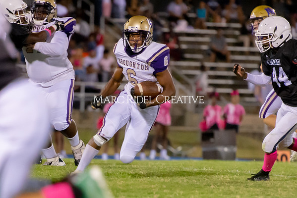 Broughton Varsity football at Southeast Raleigh. October 4, 2019. D4S_5057