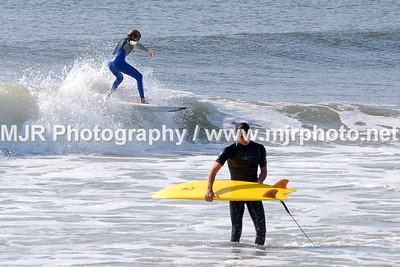 Surfing, No Name Break, NY, (9-17-06)