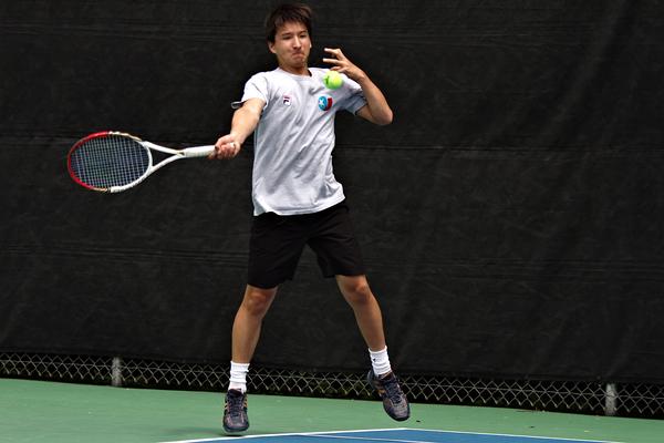 Seiji Hosokawa May 2015 Match Highlights College tennis
