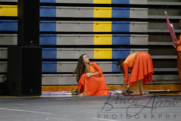 2018-02-03 Winter Guard at East Noble