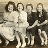 Wow!  Not sure who all these gals are, but that's Bertha (Miller) Bird second from the left; Pauline (Miller) Pollock Murray is at the far right.  This picture was probably taken in the Houston, Texas area, which is where Bertha and Pauline lived since they were young women.
