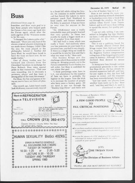 SoCal, Vol. 87, No. 56, December 10, 1979