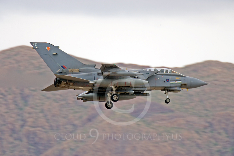 Panavia Tornado 00050 Panavia Tornado British RAF Nellis AFB 22 March 2005 by Peter J Mancus.JPG