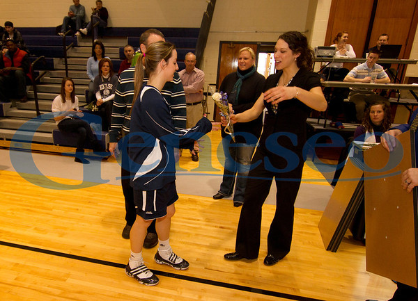 Women's Basketball - Senior Day 2011