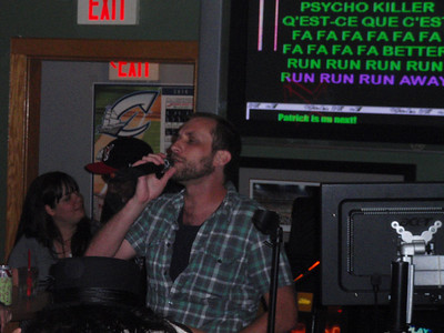 Karaoke at the Thirsty Scholar 6/7/10