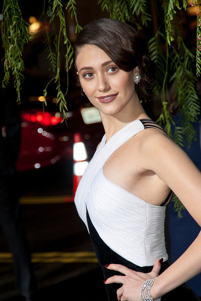 HOLLYWOOD, CA - FEBRUARY 06: Actress Emmy Rossum attends the Los Angeles premiere of Warner Bros. Pictures' 'Beautiful Creatures' at TCL Chinese Theatre on Wednesday February 6, 2013 in Hollywood, California. (Photo by Tom Sorensen/Moovieboy Pictures)