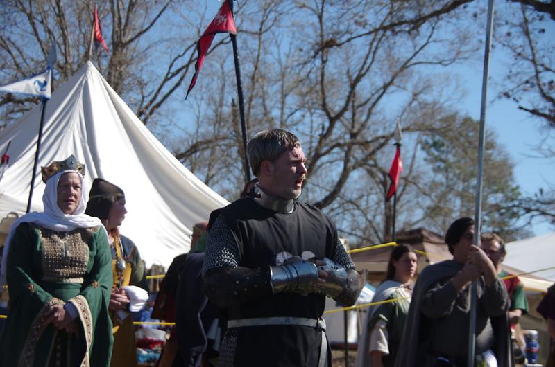 General Caedmon addresses the troops