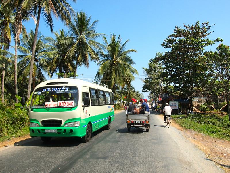 Touring the Mekong Delta in Vietnam
