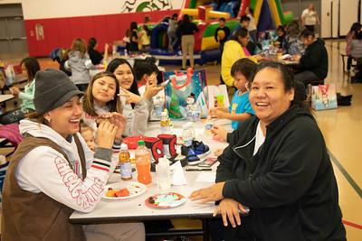 Meskwaki Family Services Christmas Party