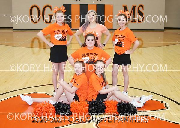2020-2021 OGMS Cheerleading