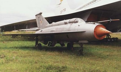 MiG-21l  testing the Ogival wing for the Tu-144