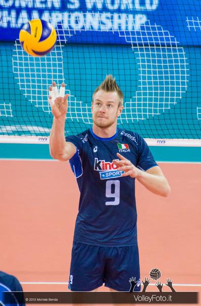 Ivan Zaytsev [ITA] - Italia-Iran, World League 2013 - Modena