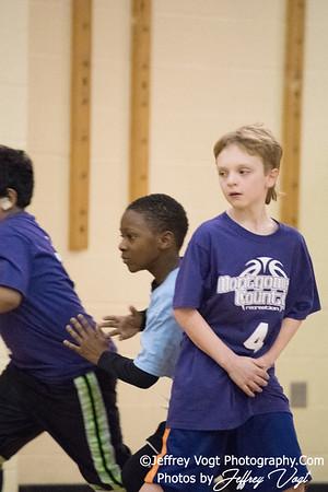 02/25/2017 4th Grade Boys Basketball Coach Mann, Photos by Jeffrey Vogt Photography