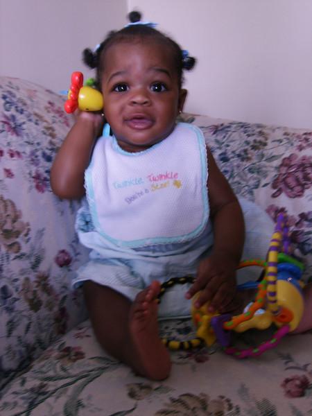 Vanessa at 6 1/2 months