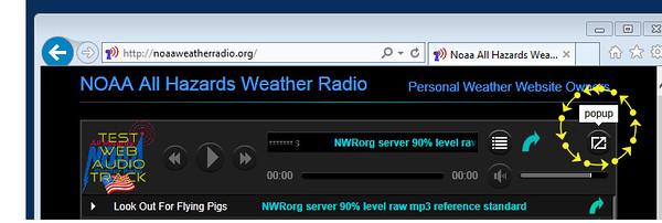 NOAA WEATHER  RADIO ORG