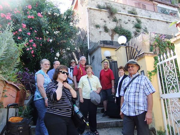 John and Cheryl Rome Vacation
