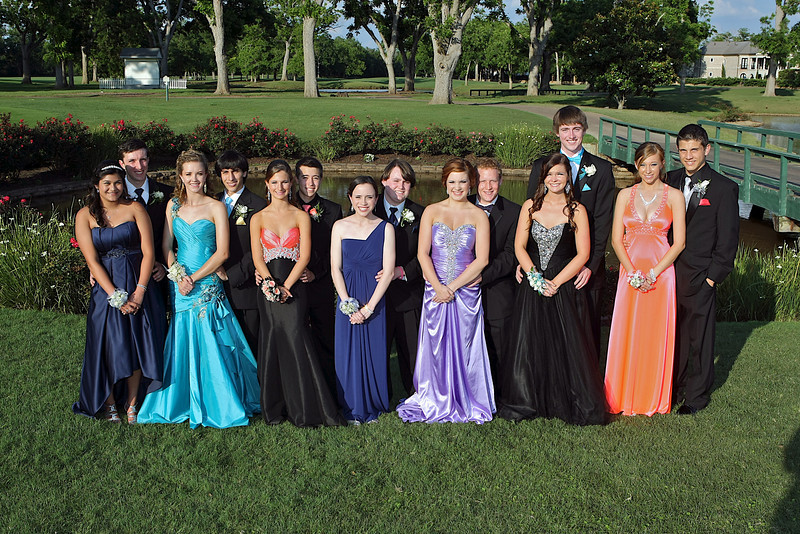 Prom 2012 (Group of 14)