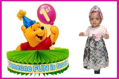 Kamara Daughter's 1st. Birthday Photos