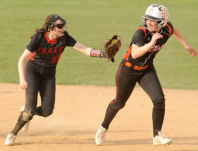 Yorkville softball vs. DeKalb - May 1, 2018