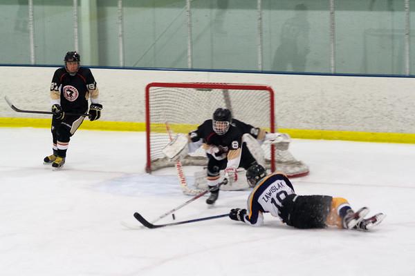 Wilkes-Barre Junior Pens at Hatfield Ice Hawks 2-1-2014