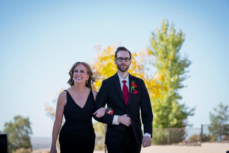 Sandia Hotel Casino New Mexico October Wedding Ceremony C&C-12.jpg