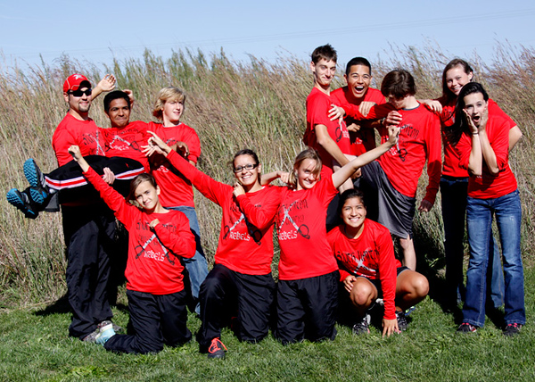 SN MS/HS Cross Country Team 2012