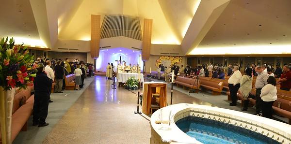 Easter Vigil-Grotto Mass 2021