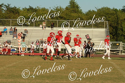 Football vs Smyrna Middle  9/6/17