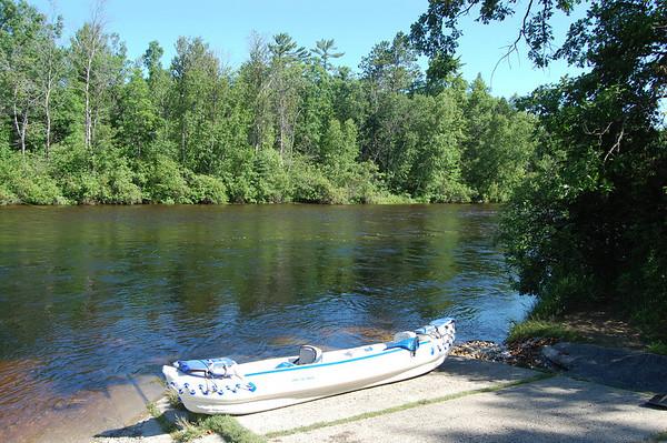 Paddling Au Sable River