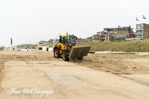 Coastal Work Katwijk Netherlands