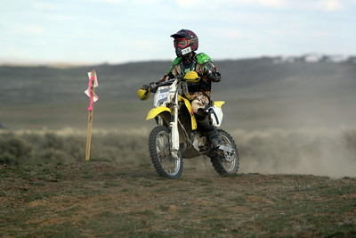 2009 Desert 100 Kids Race #1- Yellow Bikes