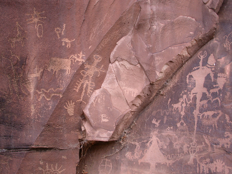 February - Petroglyphs, Utah