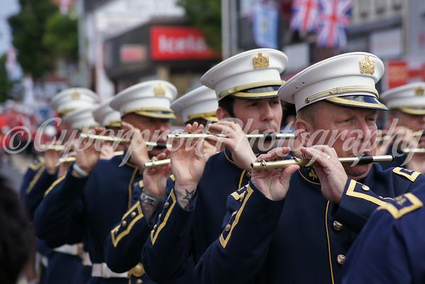 Lieutenant Col. Trevor King Memorial Parade