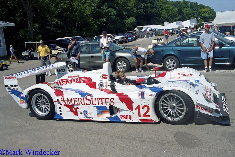 LMP900-American Spirit Racing