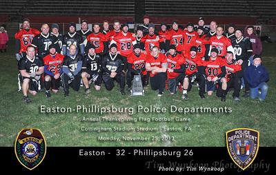 Easton-Phillipsburg Police Flag Football 2013