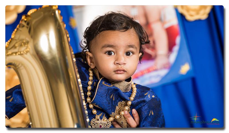 Avyan 1st Birthday Celebration 2017