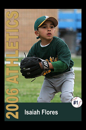Athletics Cards