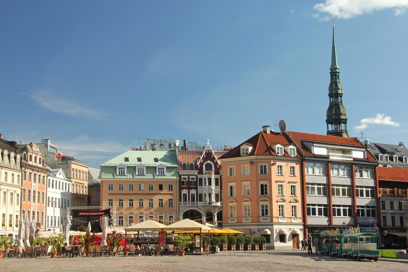 Cathedral Square (Doma laukums) in Old Town  -Riga, Latvia