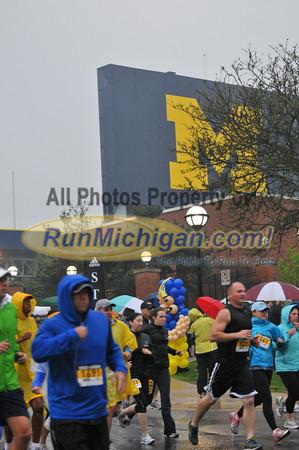 10K Start - 2012 Big House Big Heart Run