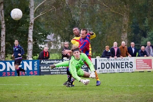 12/10/2014: Eerste Elftal KFC Edeboys - KFC Heusden