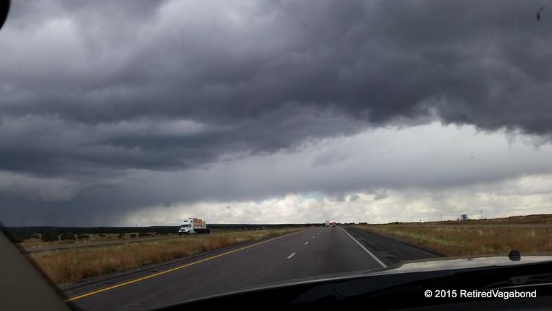 Heading to Mesa Az