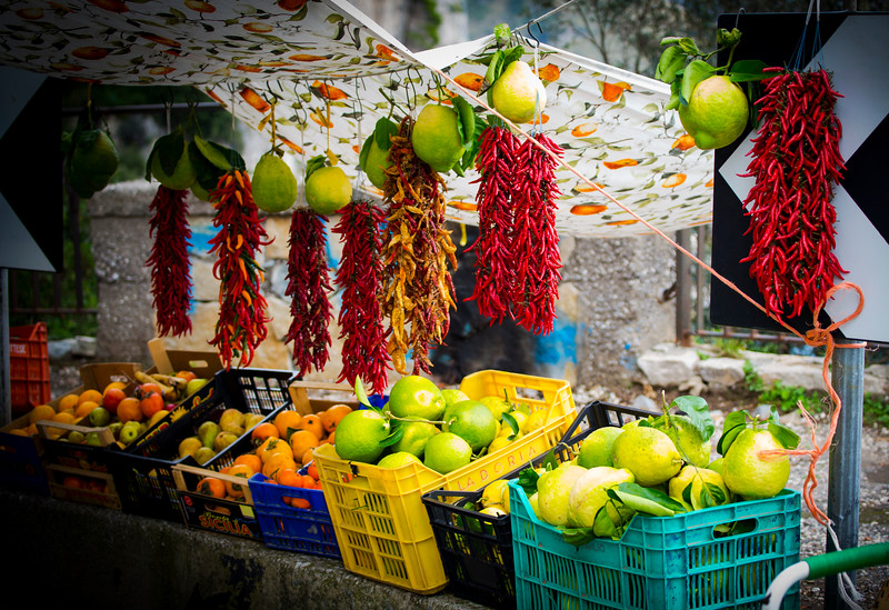 Lush Fruits and Hot Chillies
