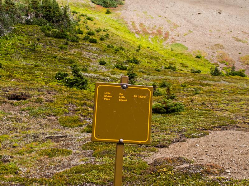 Little Shovel Pass (2200m), Skyline Trail - Jasper National Park