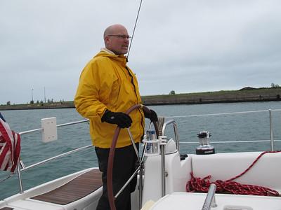 Sailing Charlie's Boat