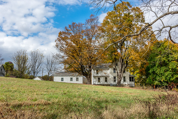 Fall landscapes in New Jersey