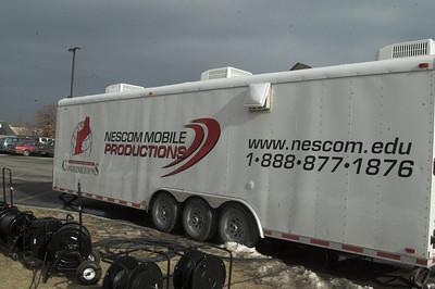 NESCom setup January 15, 2010