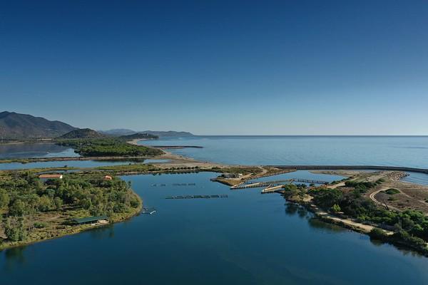 Drone - Laguna di Feraxi - Stagno di Colostrai - Muravera - Saline - 23.08.2020