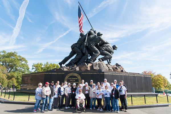 9. Iwo Jima Marine Memorial